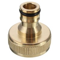 Wholesale New Arrival Brass Inch Inner Threaded Tap Accessory Quick Joint Connector Copper Adaptor