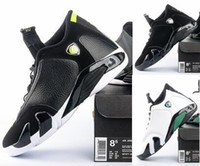 basketball pc - Air Retro Oxidized Green Indiglo black cat sports size basketball shoes Sports sneaker