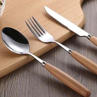 Wholesale KASH bone china dinnerware wood Cutlery set dinnerware china dinnerware cutlery Advanced European and American style Family dinner