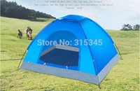 Wholesale 2 Person Rainproof Beach Mountaineering Park Ourdoor Camping Tent for Hiking Fishing Hunting Adventure Picnic Party