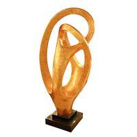 arts crafts copper - Artwork Landing Sculpture Crafts Imitation Copper Statue Decoration Sculpture Crafts with Resin Fiberglass for Hotel Decoration