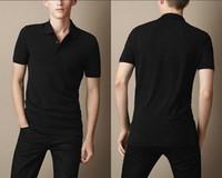 Wholesale classic men England summer cotton casual polo shirts top quality designer man Summer polo shirt england style short shirt BP1503 SIZE S XXL