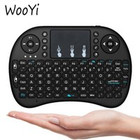 android notebook tablet - Shipping DHL Mini Wireless Keyboard GHz English Air Mouse Keyboard Remote Control Touchpad For Android TV Box Notebook Tablet Pc