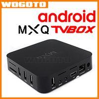 best gpu - TV Box Android MXQ Amlogic S805 GPU CPU Android Free Movie Best Multimedia Gateway Internet TV Set Top Box VS OTT TV BOX M8S