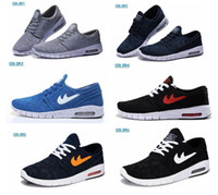 Wholesale Hot selling SB Stefan Janoski Max MEN S Running Sport Shoes Size US7 US11 High quality Summer breathable cushion sneaker