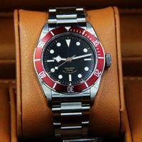 analog drivers - Top brand super luminous mens watch ETA2824 movement black dial driver watch stainless steel