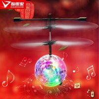 apple controlled toys - Rascal new induction colorful glare small apple aircraft with music lights remote control airplane model toy
