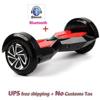 Wholesale Hot sale inch round since the smart balance of the car LED Bluetooth electric skateboard air cushion plate