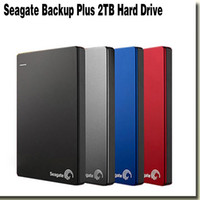 Wholesale Seagate Backup Plus polegada T HDD USB3 External Portable Hard Drive for Laptop computer red STDR2000303