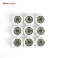 Wholesale Micromake D Printer Parts DIY Pulley Wheel Plastic Pulley Wheel Driven Wheel