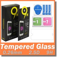 Wholesale For Iphone Tempered Glass Screen Protectors For Iphone Plus Iphone D Explosion Shatter Screen Protector LG K7 Film In box