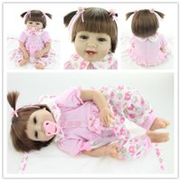 baby toys picture - Real Pictures Inch cm Newborn Lifelike Soft Vinyl Silicone Reborn Girl Dolls Handmade Realistic Baby Alive Doll Kid Girls Gift Toys