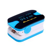 Wholesale OLES show Pulse Oximeter Display Pulsioximetro Spo2 Oximetro De Dedo Finger Color Blue Hot Sale
