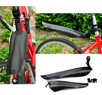 Wholesale New Bike Bicycle Mud Guards Bicicleta Cycling MTB Front Rear Mudguard Mud Guards Quick Release Set Cycling Accessories