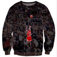 animals pulls - Newest Jordan Play Basketball D Print Pull Crewneck Sweatshirts Women Men Casual Pullovers port Jumper Jogging Tops
