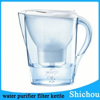 Wholesale Brita Slim Water Filtration Pitcher Clear Water Purifier Filter For Home Hospital Lab Office Free DHL