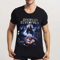 avenged sevenfold shirt - Classic American Rock Band Avenged Sevenfold Men s T shirt D Print Men T Shirt Halloween Clothes Men s Summer Tops