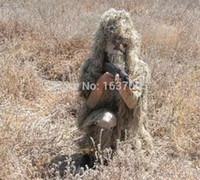 Wholesale The Newest Grass Type Camo Ghillie Yowie Sniper Tactical Camouflage Suit for Hunting Paintball Hiding colors