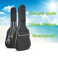 bass backpack - Waterproof mm Thicken38 Inch Guitar Bag Case Backpack Guitarra Bass Accessories Parts Carry Gig Oxford Cloth Black
