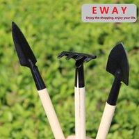 Wholesale Mini Tool Garden Hoe Set Small Shovel Sppittle Tools for your little flower or bonsai