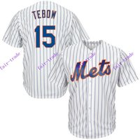 authentic mets jersey - new york mets tim tebow white home cool base MLB Baseball Jersey Cheap Rugby Jerseys Authentic Stitched Size
