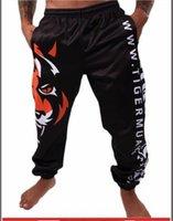 all'ingrosso hayabusa mma-sport Tiger Muay Thai e pantaloni per il tempo libero in bianco e nero sport da combattimento pantaloncini da combattimento MMA Hayabusa economici pantaloncini mma cattivo ragazzo
