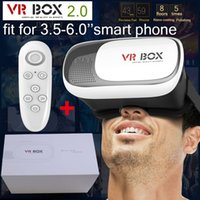 Wholesale Google Cardboard VR BOX II Smartphone Headset D Virtual Reality Glasses Helmet Goggle Oculus Rift DK2 Head Mount Controller