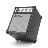 bass amp speakers - Electronic Myamp Guitar Amplifier Adjustable Portable Speaker Engraving Deep Bass Sound Effect Mini my amp Marshall for iphone s SE samsung