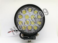Wholesale 42w Round Led Work Driving Spot Lights Floodlight Car Led Headlight Tractor Truck Suv Boat Jeep Offroad Driving Automotive Led Work Light