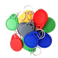 Wholesale 125KHz Writable Rewritable Blank T5577 RFID Key Tags RFID Copier Promixity Card Access Control Keyfobs Keychains For