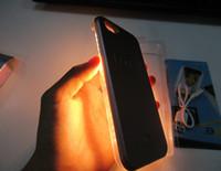 Wholesale LED light shiny protective shell shockproof back cover LED light Phone Cases for i6 plus i6s plus i5s cases