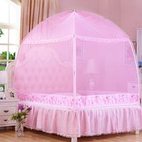 Wholesale Heigtning encryption and three door zipper Mongolian Yurt mosquito net have many diffence colors and sizes