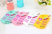 apple milk - For iPhone s Plus s S SE Cell Phone Cases D Cute Boys Tears Milk Box Soft Silicone Case Skin Back Cover