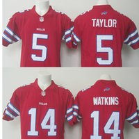 b rugby - 2016 New Men s B Bills Sammy Watkins LeSean McCoy Tyrod Taylor Red Color Rush Limited Jersey