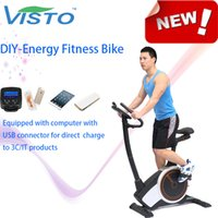 Wholesale Self generating Fitness Bike DIY Electricity exercise machine Magnetic Bike elliptical bike recumbent bike