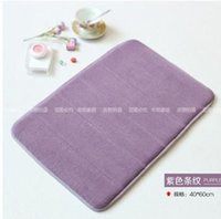 Wholesale 1PCSBath Bathroom door mat Absorbent mat toilet slip mat bath mat thickening carpet kitchen