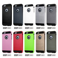 Wholesale For iphone plus Case Armor Hybrid Dual Layered Cases Brand For iphone s Case iphone s s plus Cases iphone Cases Samsung Note7