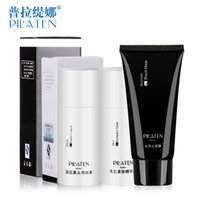 Wholesale Paula Tina to suit to the black shrink pores blackhead mask nose pore fluid is derived for men and women