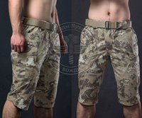Wholesale Running Camping ShortsCamouflage Cargo Shorts Men Cotton Sport Shorts Outdoor Hunting Tactical Shorts