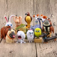 Wholesale The Secret Life of Pets Styles Action Figure Max Chloe Snowball Rabbit Gidget Buddy Duke Dog PVC Doll Toys Christmas Promotion Gifts