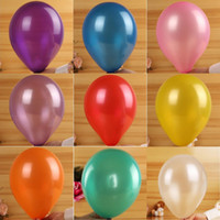 Wholesale 100pcs Colors Balloon Wedding Decoration Birthday Party Ballons Multicolor Latex Rubber Balloon Home Decorations