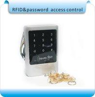 Wholesale Metal shell Waterproof touch digital key KHZ RFID Reader Keypad Door Access Control crystal keyfobs