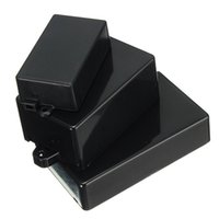 Wholesale 2016 new Black Waterproof Plastic Cover Project Electronic Instrument Case Enclosure Box Lowest Price