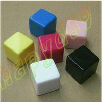 Wholesale 25MM blank dice paintless plain engravable DIY poker Gambling dice ktv dice chess Board game teaching dice