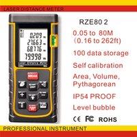 Wholesale handheld laser range finder80 m laser range finder Distance Meter RZE80 Laser generation upgrade