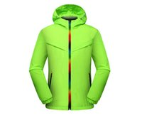 Wholesale 2016 sports windbreaker jacket hooded jacket thin Hooded windbreaker jacket Spring and Autumn men and women sports quick drying sunscreen cl