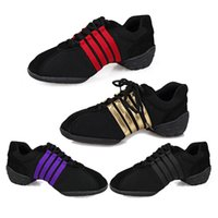 Wholesale 2016 New Hot dance sneakers on Sale colors fashion style black red gold purple high quality dance shoes