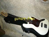 Wholesale NEW White Custom strings Electric Bass Guitar guitar