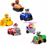 big dog boxing - 6 pieces Puppy of types Action Toy Figures Children s Dog cartoon Scooter Car with original box free shiping