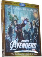 avengers blu ray - New Arrival Blu ray D Movie Marvel s The Avengers I BD bluray D DVDs HD American Hollwood Movies High Quality DHL FREE